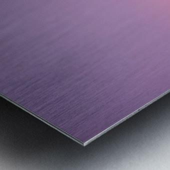 Mirabel mauve Metal print