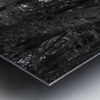 A long way Metal print