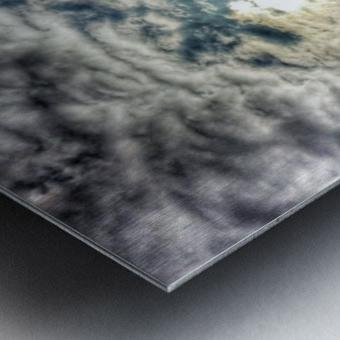 Sky City Metal print