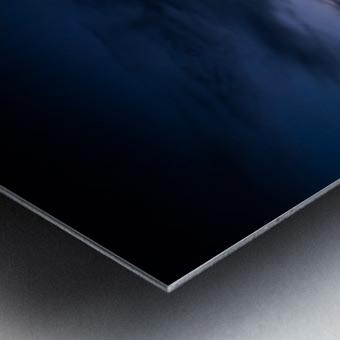 Blue Cloud - Nuage Bleu Metal print