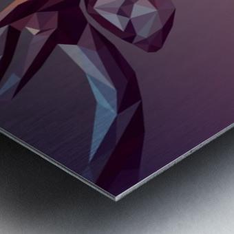 polycerf Metal print