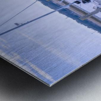 At Harris C Chember Metal print