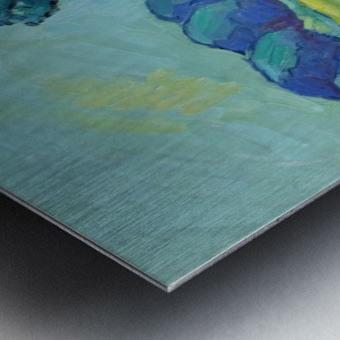 Two Poplars Metal print