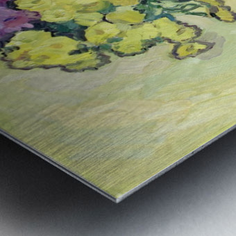 Chryzantemums Metal print