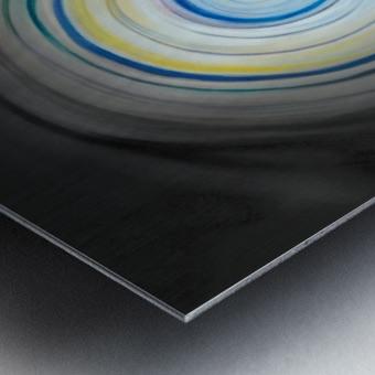 circling Impression metal