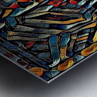 osfoboro Metal print