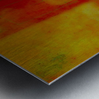 ARRIVALS Metal print