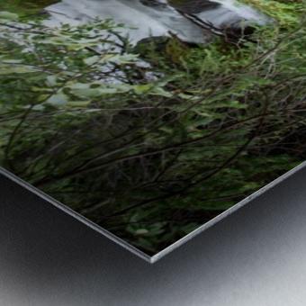 Beautiful Waterfall Photos - Alaska Metal print