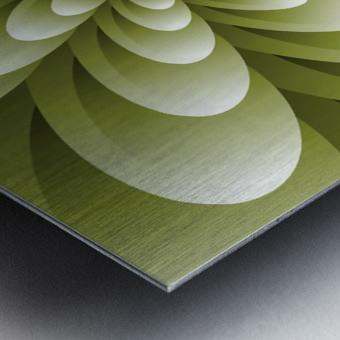 Greeny Feel Metal print