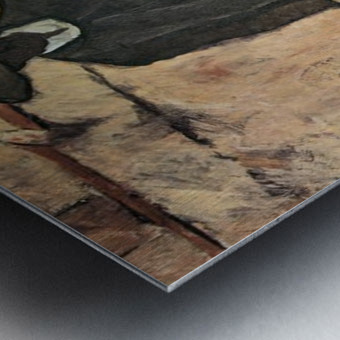 Blind by Albin Egger-Lienz Metal print