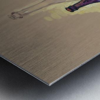 STL 4 Metal print