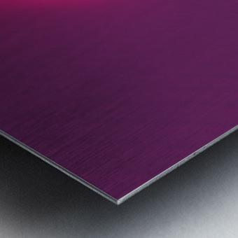 Abstract Purple & Blue Art Metal print