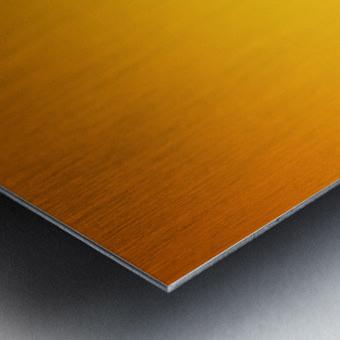 Orange Gradient Background Metal print