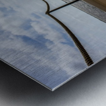 The Jetty Metal print