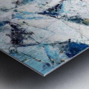 Exploding Panels Metal print