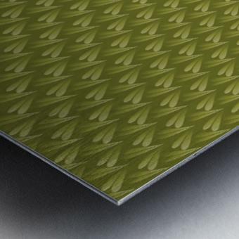 Green Land Metal print