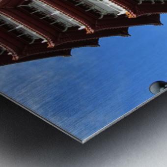Pagoda Metal print