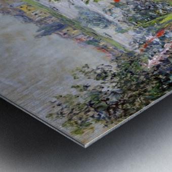 Flowers at Vetheuil Metal print