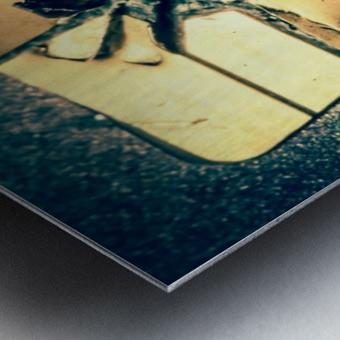 Abstract 029 Metal print