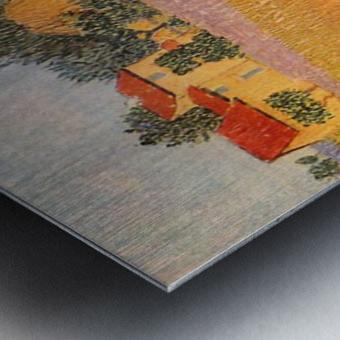 Farmhouse in Provence by Van Gogh Metal print