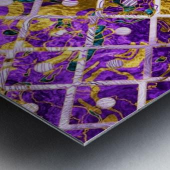 Pattern LXXXII Metal print