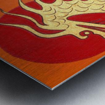 Asian Dragon Icon No.1 Metal print