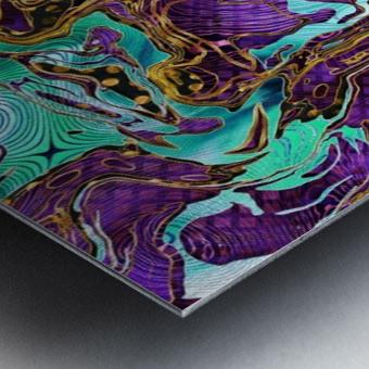 Pattern LXXVIII Metal print