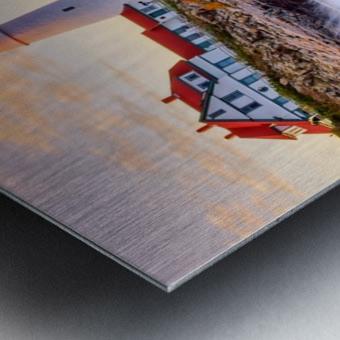 Crashing Waves - APC-113 Metal print