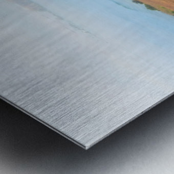 Coastal Views Fog Metal print