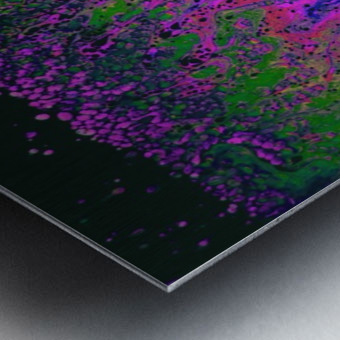 Bubbles Reimagined 55 Metal print