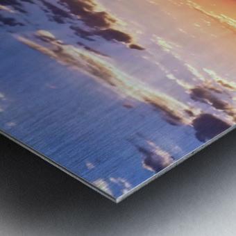 Puget Sound Sunrise Metal print