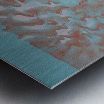 VAPOR 2 Metal print