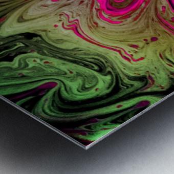 Bubbles Reimagined 76 Metal print