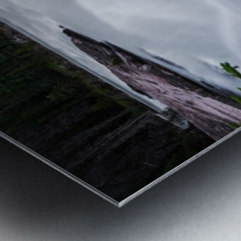 Columbia River Metal print