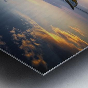 The boats Metal print