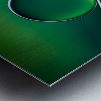 Shifting Shapes Metal print