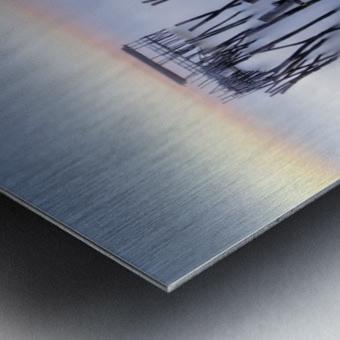 The Old Pier Metal print