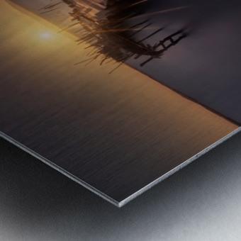 The dock Metal print