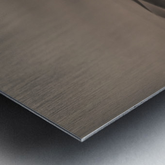 The perfect sandstorm Metal print