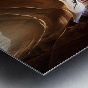 Antelope Waterfall Metal print