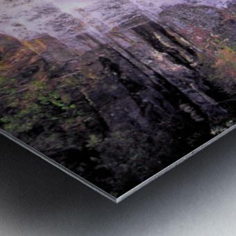 Waterfall8 Metal print