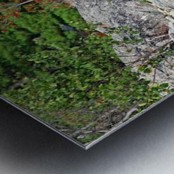 Shawanaga Rock Formation Metal print