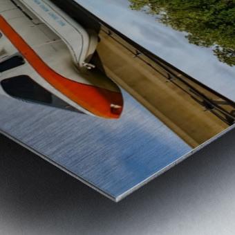 EPCOT Monorail Metal print