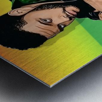 The Weeknd Metal print