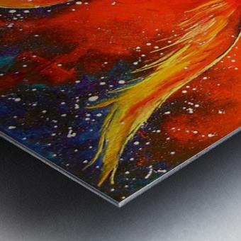 Phoenix bird Metal print