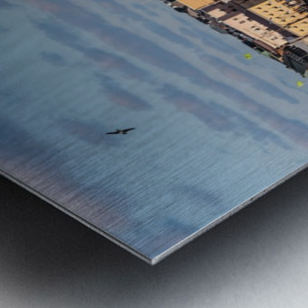 HELSINKI 01 Metal print