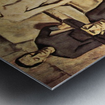 Resurrection of Christ by Albin Egger-Lienz Metal print