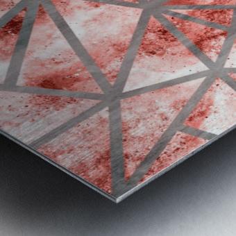 Geometric XXXV Metal print