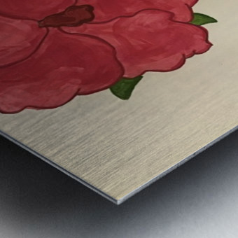 A Floral Dream Metal print