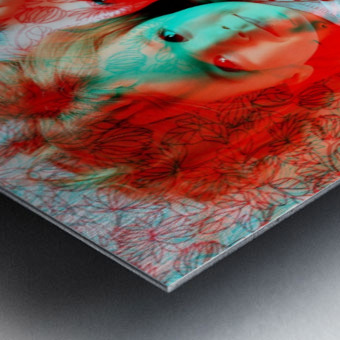 Baby Love  -  by Neil Gairn Adams Metal print